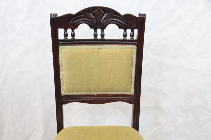 Mahagoni  Viktorianischer 4er Satz Stühle Esszimmerstühle