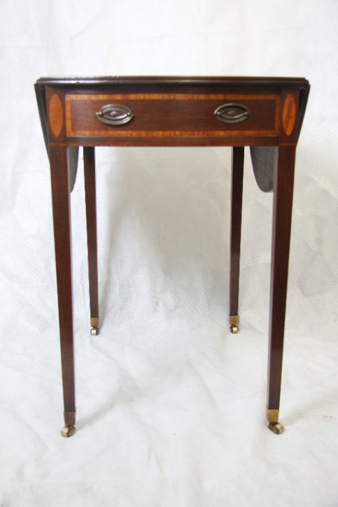 Mahagoni Tisch Pembroke table  Edwardian 1890