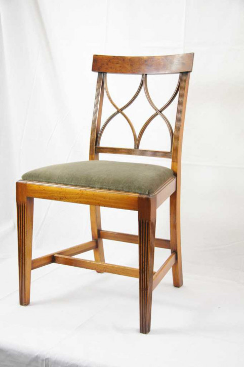 Gothic Cross Back Chair Eibe
