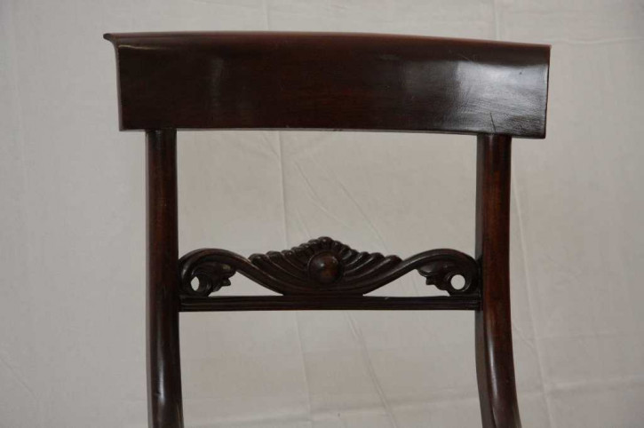 Simple Chair Mahagoni