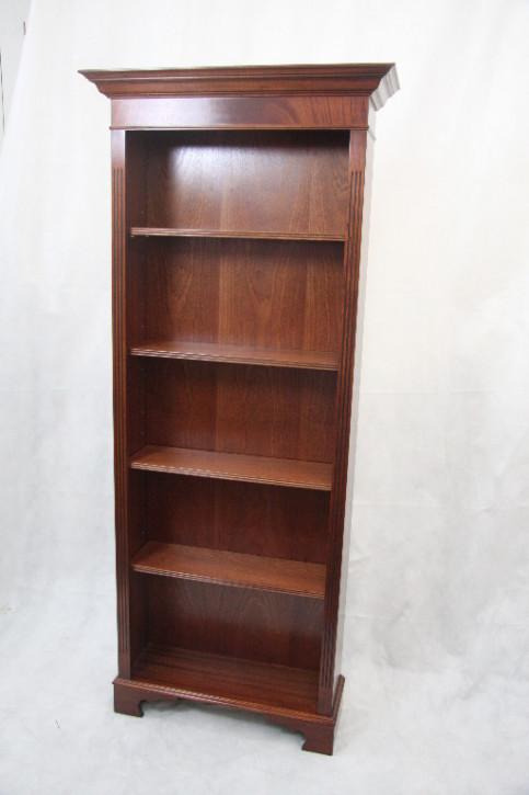 Bücherschrank Mahagoni open bookcase