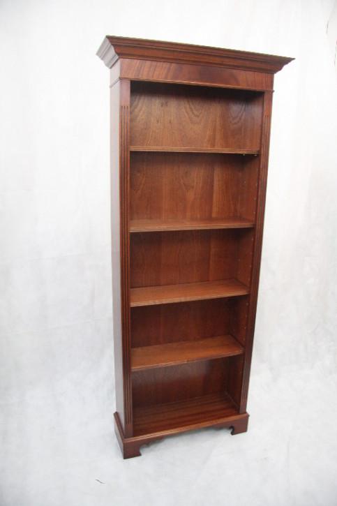 Bücherschrank Mahagoni open bookcase  auch in Eibe möglich