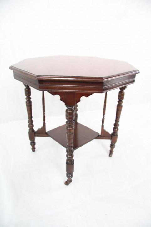 Mahagoni Tisch Edwardian Original Salontisch