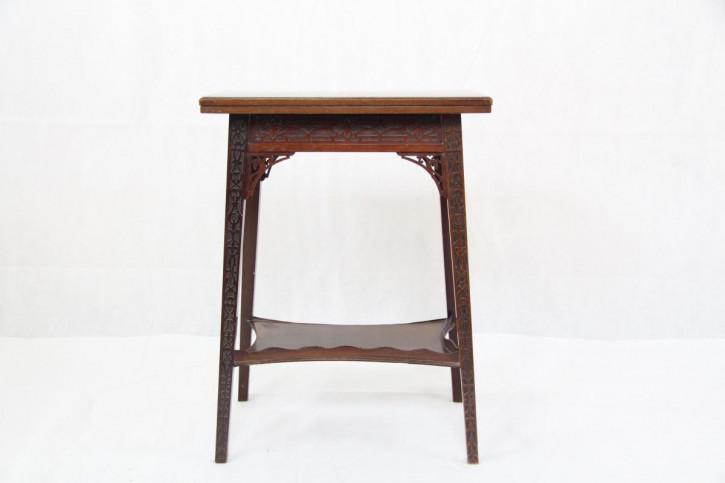 Card Table Spieltisch England Viktorianisch 1890