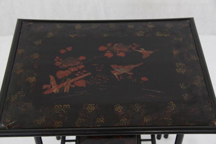Teetisch Bambotisch Table vögel
