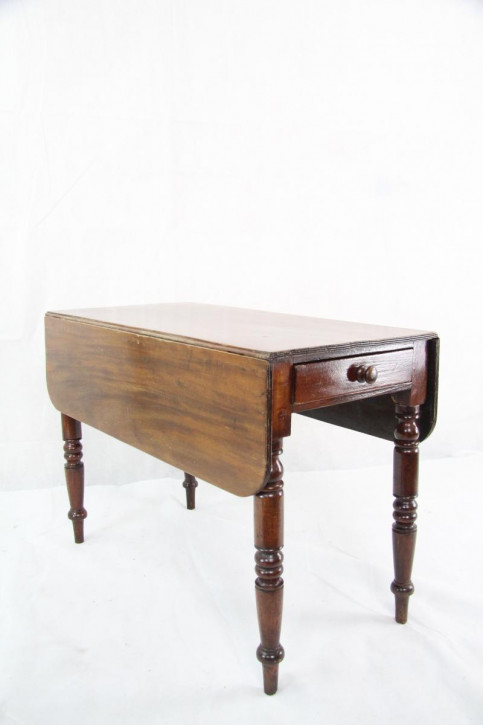 Mahagoni  Esstisch Pembroke Table Original 1860 Victorian