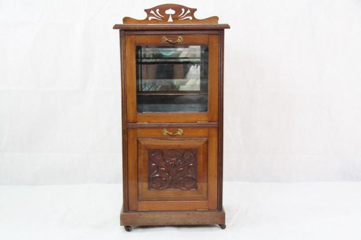 Musikcabinet  Victorianischer Musikschrank Original  1860