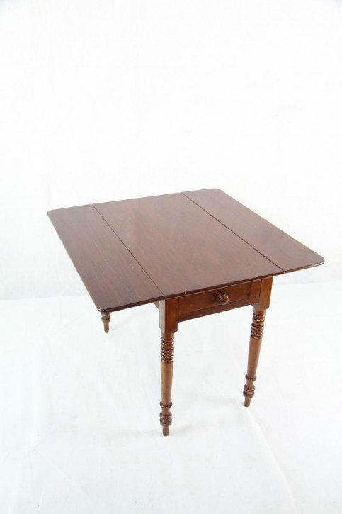 Mahagoni Esstisch Pembroke Table Original Victorianisch 1860