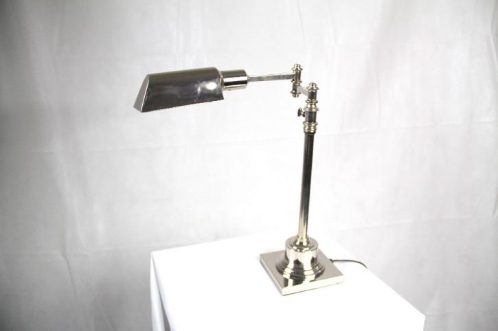 Bankerslamp Art Deco Chromestyle