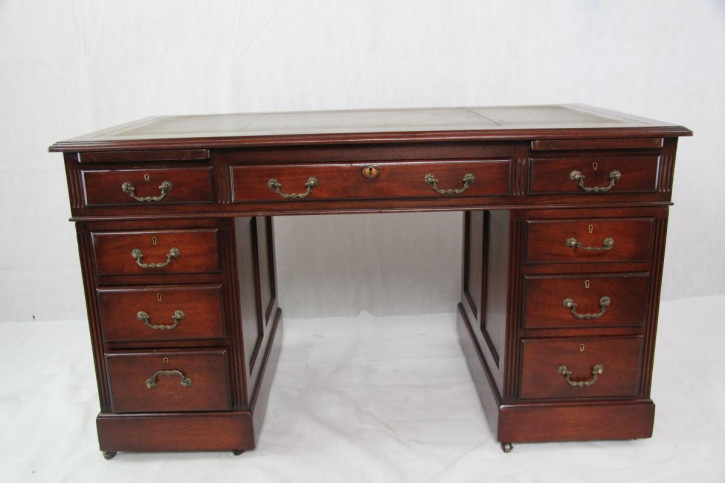Schreibtisch Mahagoni Original Victorian
