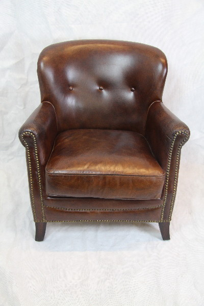 Classic club2  Sessel leder Vintage