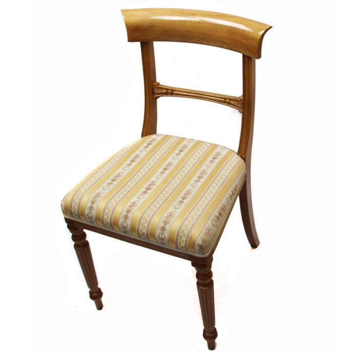 Viktorianischer Satz Stühle Eibe 4+2