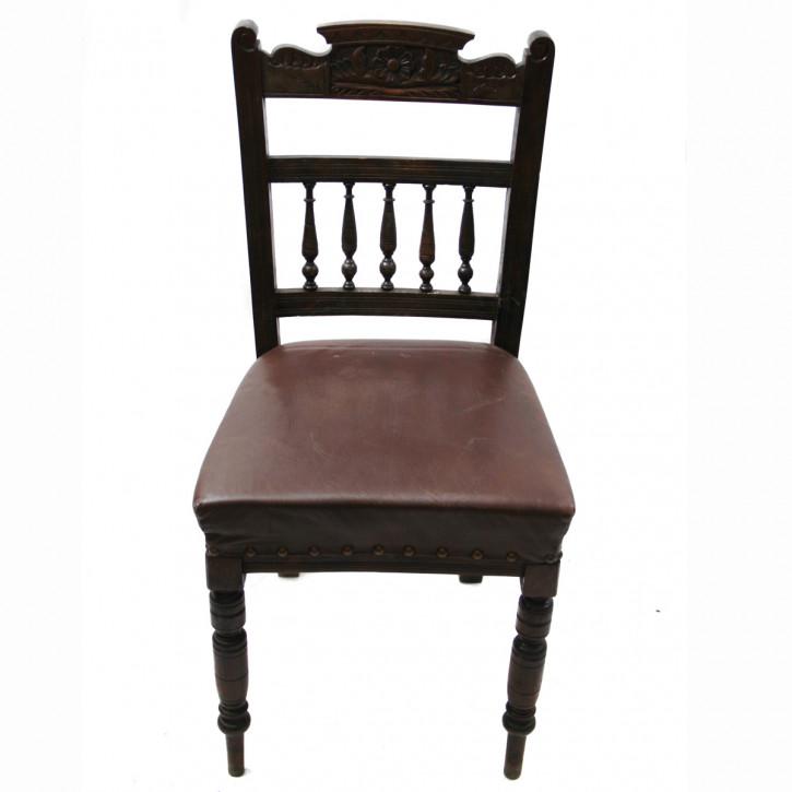 Viktorianischer Stuhl Mahagoni