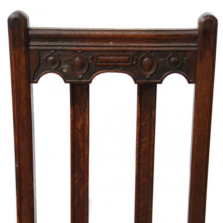 Single dining  Chair  massive Eiche   1920