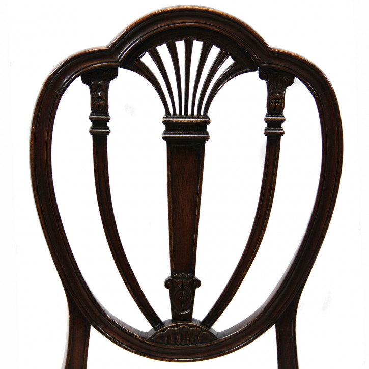Shield Back Chair Georgean Style