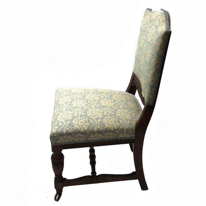 Victorian Chair  Mahagoni  mit gepolsterten Rücken