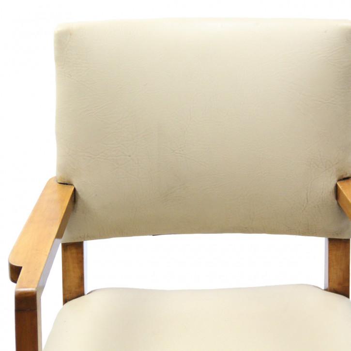 Art Deco   Stuhl Satz 4+2  Wurzelholz