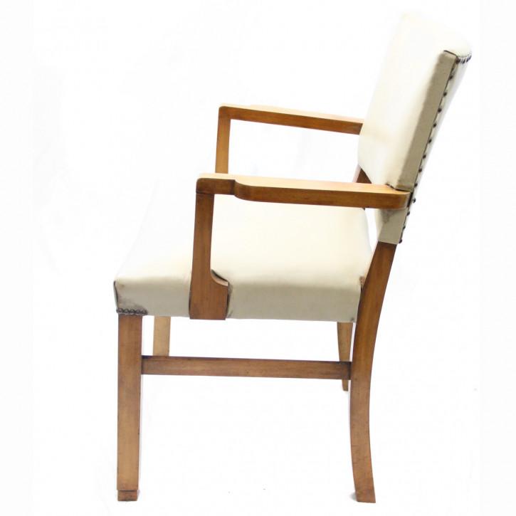 art deco stuhl satz 4 2 wurzelholz. Black Bedroom Furniture Sets. Home Design Ideas