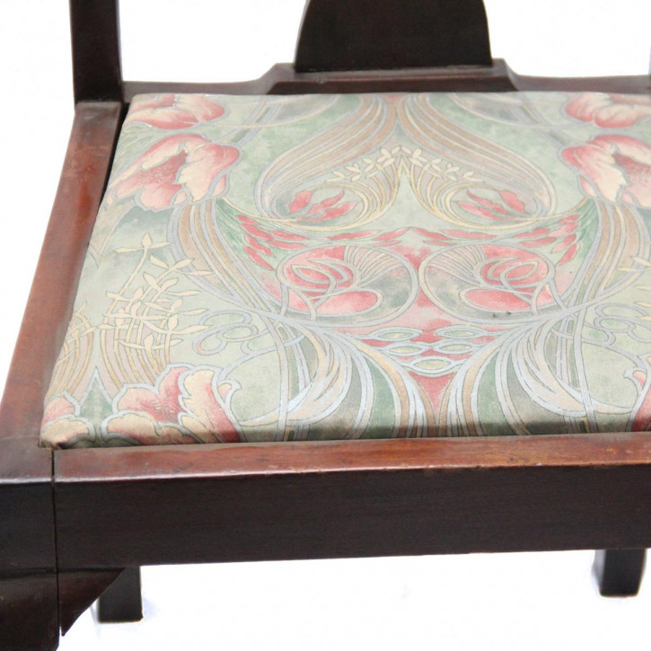 Georgean Style Stühle aus massiven Mahagoni