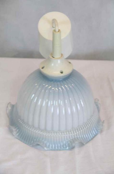Lampe blau