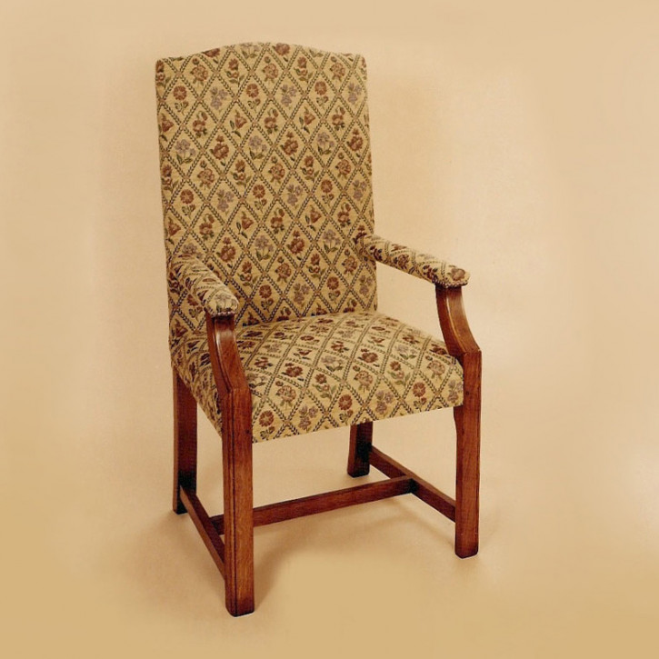 Belvedere Upholstered Arm Chair Armlehnenstuhl