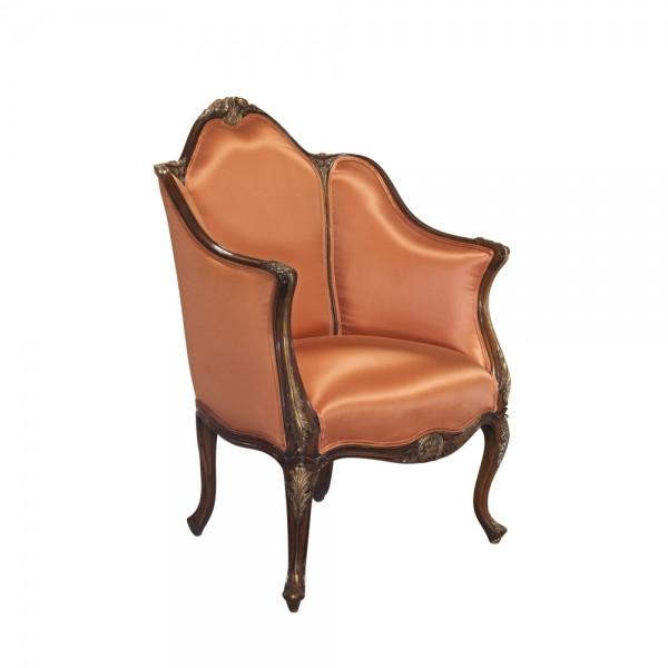 Chair, Louis XV, Bergere