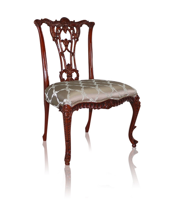 Armchair, French Chippendale