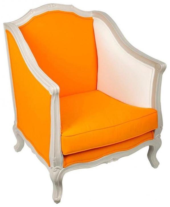 """Ausgezeichneter original französischer Sessel Stoffsessel """"Crapeau"""""""