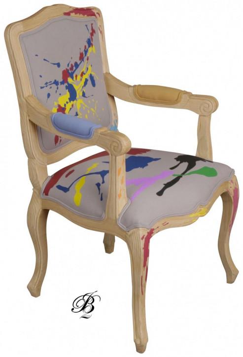 """Französischer Armlehnstuhl Armchair """"Cabriolet Splash"""""""