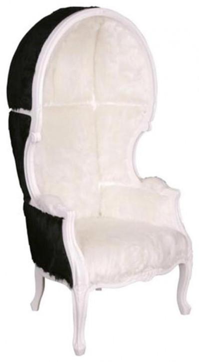 "Französischer Armlehnstuhl Armchair ""Carrosse Fourrure II"""
