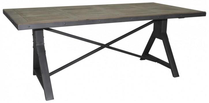 Industrial Style Esstisch, groß, 180 cm Länge