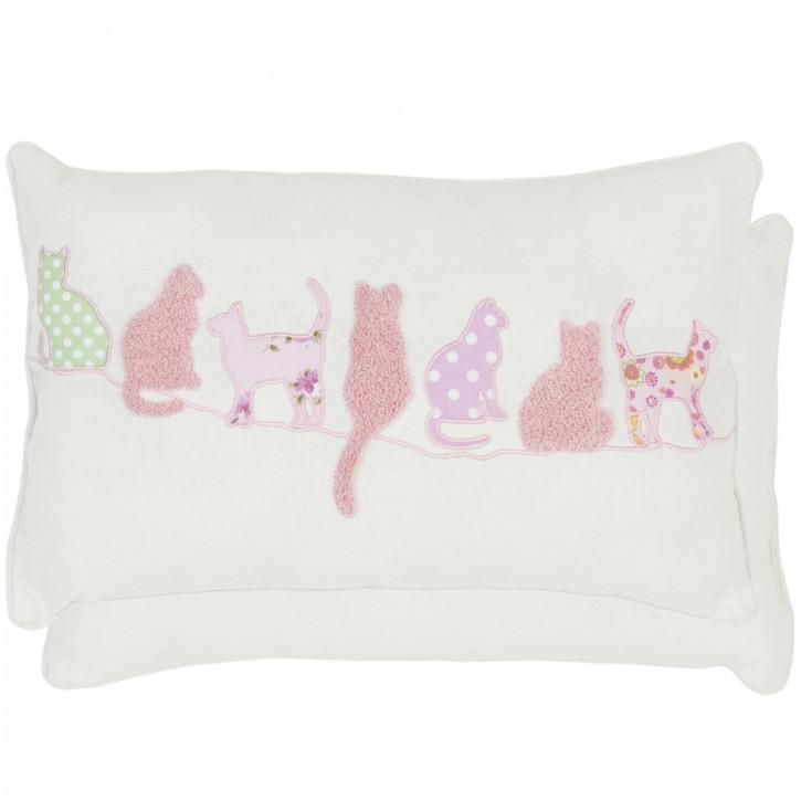 Zierkissen Katzen ca. 36 x 23 cm