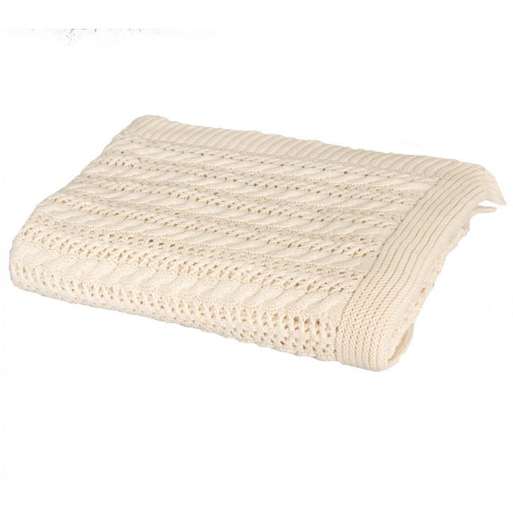 Schöne Decke, strick 125*150 cm