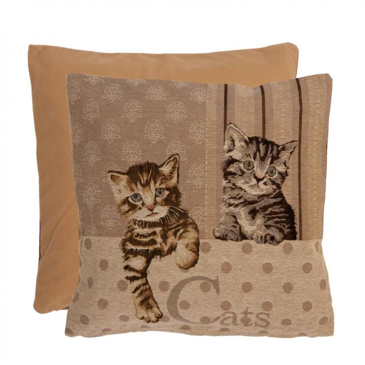 Kissenhülle Katzen Cats ca. 40 x 40 cm