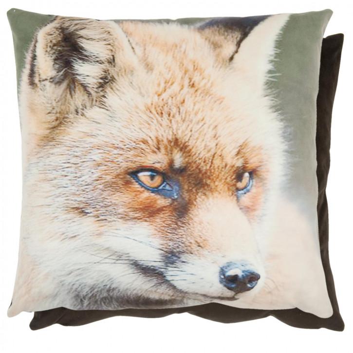 Kissenhülle Fuchs braun ca. 45 x 45 cm
