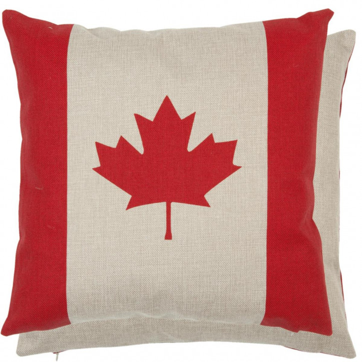 Kissenhülle Fahne Kanada ca. 45 x 45 cm