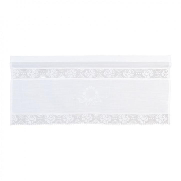 Vorhang Gardine Scheibengardine Bistrogardine natürlich ca. 60 x 90 cm
