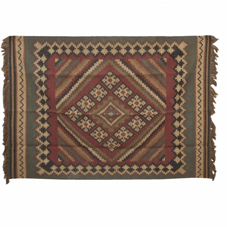 Teppich mit Karromuster 170*240 cm