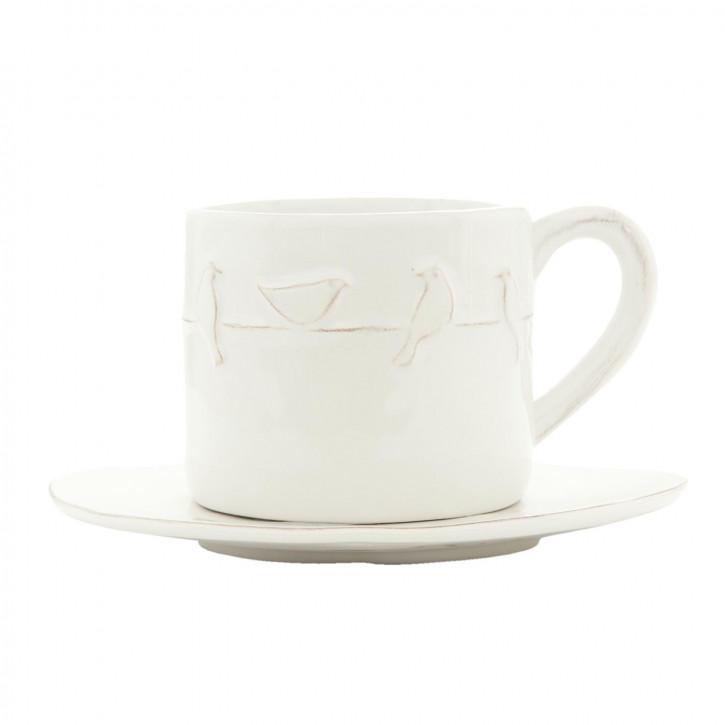 Kaffeetasse mit» 12x8x7 / Ø 15x1 cm