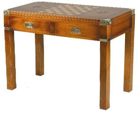 Marine Campagne Game Table, 94 x 42 x 79cm