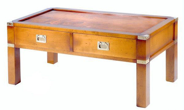 Marine Campagne Coffee Table, 96 x 50 x 42cm