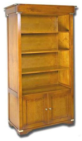 Marine Campagne Library - 2 door 3 shelves, 93 x 47 x 197cm