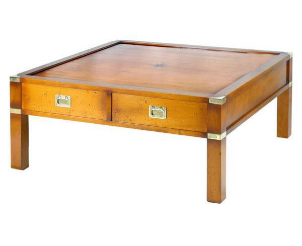 Marine Campagne Coffee Table, 96 x 96 x 42cm