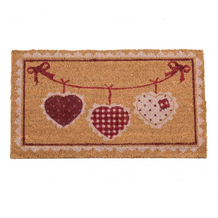 "Fußmatte ""Hearts"" 45*75cm"