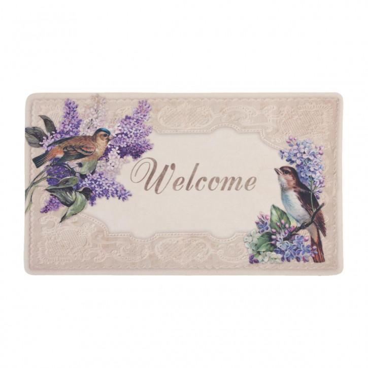 """Fußmatte """"Welcome Birds"""" 74*44cm"""