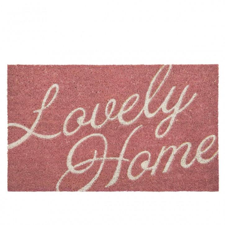 "Türmatte ""Lovely Home"" 75x45 cm"