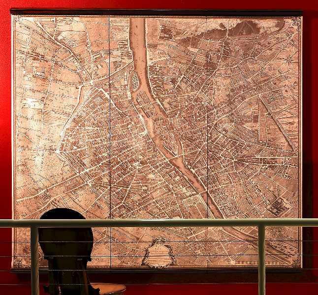 Karte - 1937 Paris , über 2m
