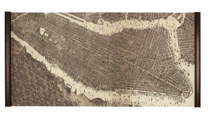 Karte - New York 1879