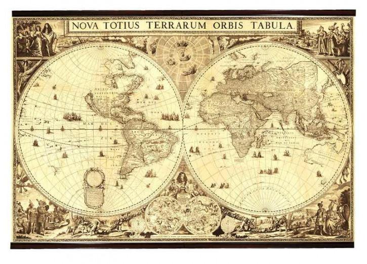 Karte - World 1660