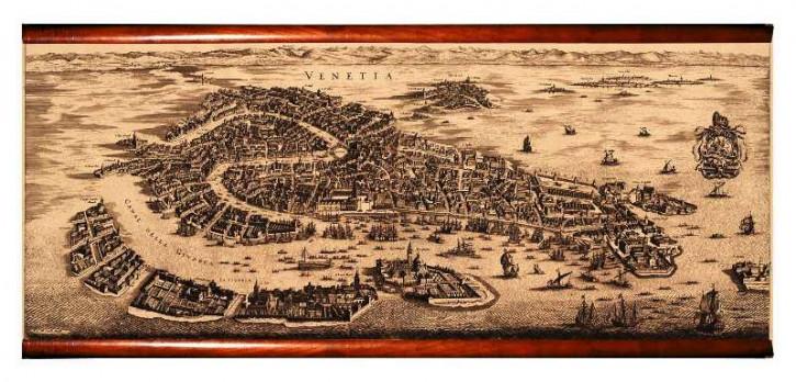 Karte - Venetia 1694